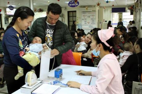Hà Nội: Từ ngày 5/5 tiếp nhận đăng ký tiêm 5.500 liều vắc xin Pentaxim