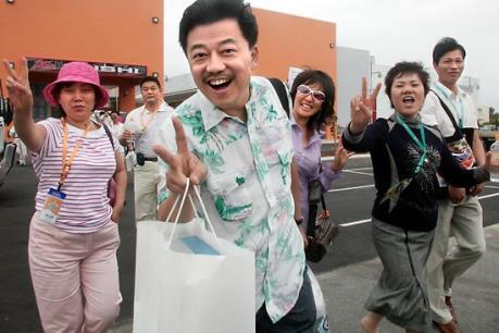 Người Trung Quốc vẫn đam mê du lịch bất chấp kinh tế khó khăn
