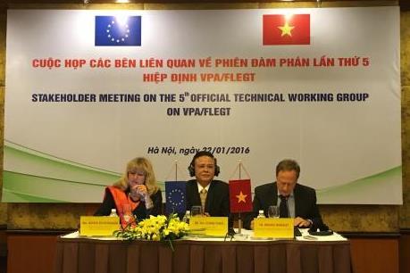 Việt Nam-EU đạt được thoả thuận về quản lý nguồn gốc gỗ hợp pháp nhập khẩu