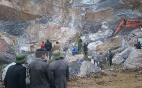 Vụ sập mỏ đá ở Thanh Hóa: Thêm một nạn nhân tử vong