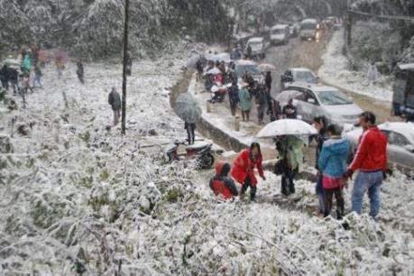 Sẽ có mưa tuyết tại Ý Tý, Sa Pa