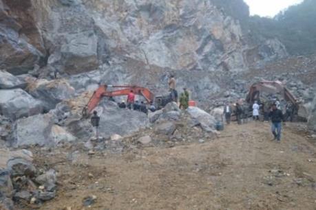 Vụ sập mỏ đá ở Thanh Hóa: Đã tìm được cả 8 nạn nhân tử nạn