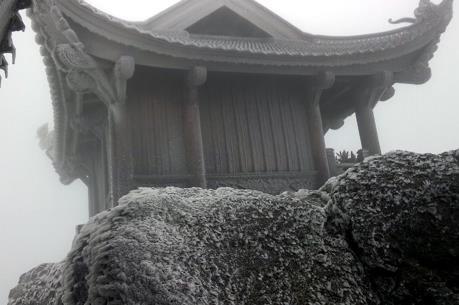Lần đầu tiên tuyết rơi ở Quảng Ninh
