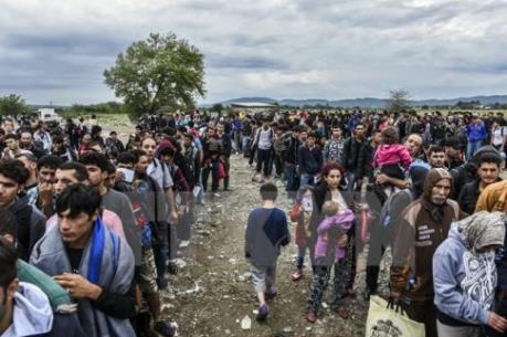 Vấn đề người di cư: EU trích quỹ nhân đạo khẩn cấp cho Hy Lạp