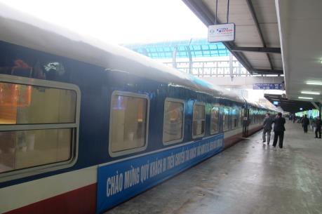 Khai trương đoàn tàu chất lượng cao tuyến Hà Nội - Sài Gòn