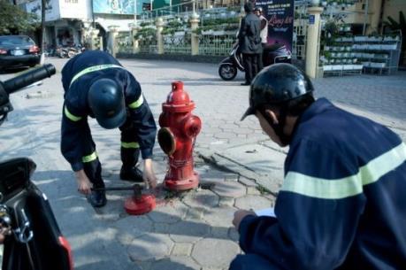 Hà Nội đưa vào sử dụng 500 trụ lấy nước cứu hỏa