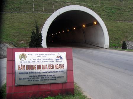 Thủ tướng đồng ý mở rộng hầm đường bộ qua Đèo Ngang