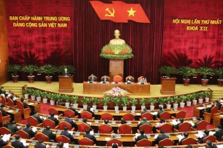 Đại hội Đảng: Ban Chấp hành Trung ương Đảng khóa XII họp hội nghị lần thứ I