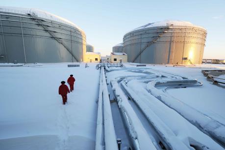Giá dầu thế giới ngày 27/1 tiếp tục đi lên
