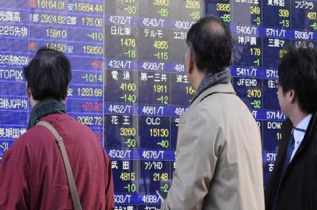Nhóm cổ phiếu công nghệ mất giá mạnh trên thị trường châu Á