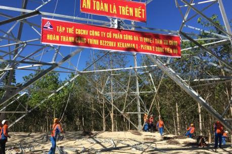 Đón nguồn năng lượng nhập khẩu từ Lào (Bài 1)
