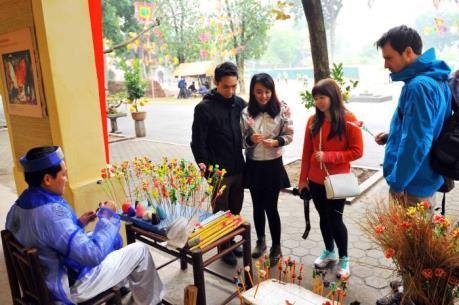 Những hoạt động thú vị tại Hội Xuân Hoàng thành Thăng Long