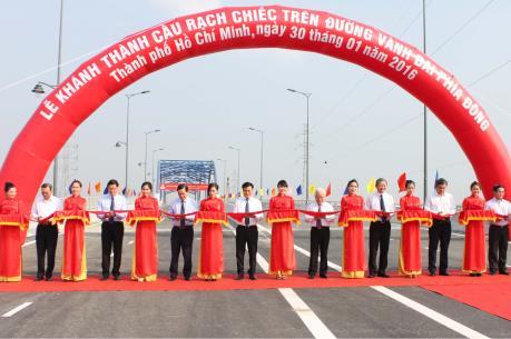 Khánh thành cầu Rạch Chiếc trên đường vành đai phía Đông TP. Hồ Chí Minh