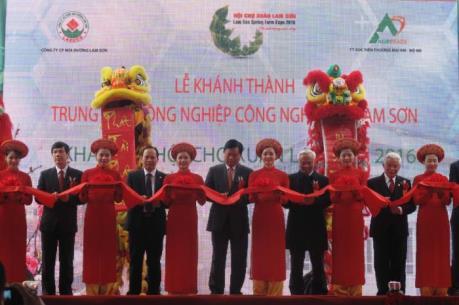 Khánh thành Trung tâm Nông nghiệp Công nghệ cao Lam Sơn