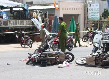 Tai nạn giao thông nghiêm trọng tại Bình Phước: hai người tử vong