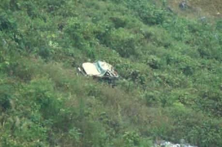 Hà Giang: Xe ô tô tải lao xuống vực sâu, 4 người chết tại chỗ