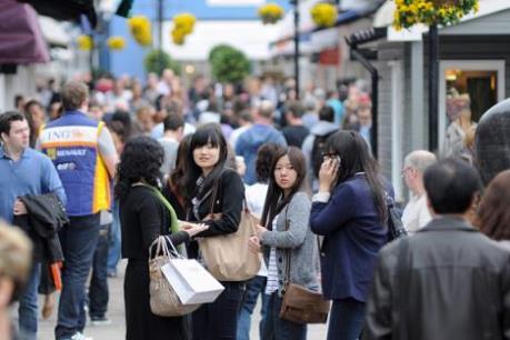 """Ngành du lịch Anh vẫn """"dựa"""" nhiều vào du khách Trung Quốc"""