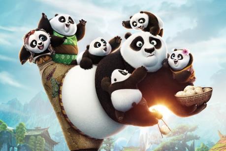 """Top 10 phim ăn khách: """"Kungfu Panda"""" đốn gục Bắc Mỹ"""