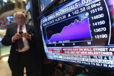 Chứng khoán Mỹ vẫn vững vàng bất chấp các số liệu kinh tế kém khả quan