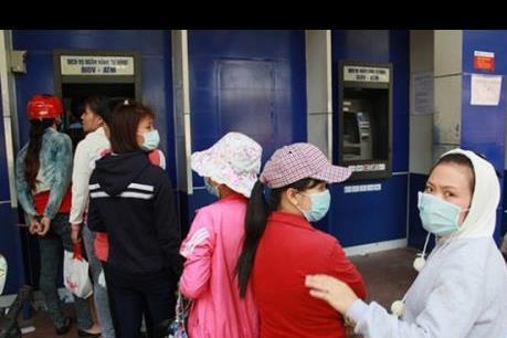 Bình Dương đảm bảo đủ tiền cho các máy ATM