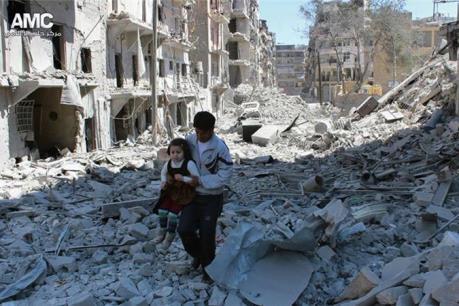 LHQ muốn gây quỹ 9 tỷ USD giúp đỡ người dân Syria