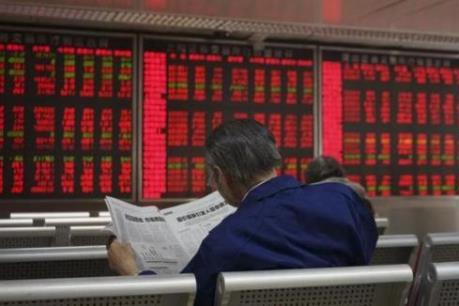 Sắc đỏ phủ khắp các thị trường chứng khoán châu Á