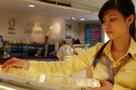 Giá vàng bật tăng mạnh trở lại