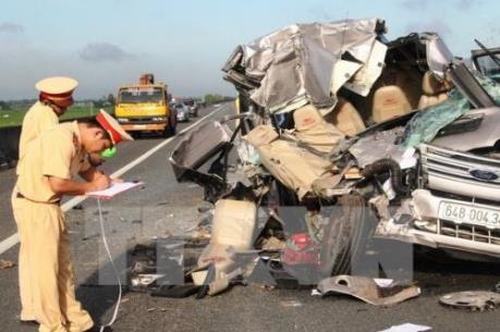 735 người chết vì tai nạn giao thông trong tháng đầu tiên của năm 2016