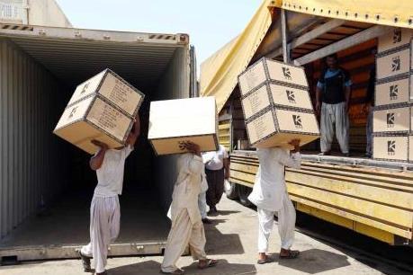 Iran miễn thuế 100% cho hàng hóa xuất khẩu