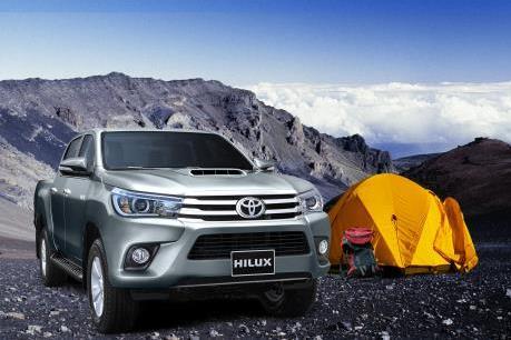 Tháng đầu năm, doanh số bán xe Toyota Việt Nam tăng 17%