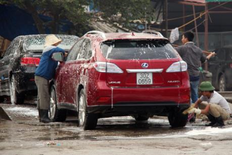Các dịch vụ chăm sóc xe hơi, làm đẹp đắt hàng dịp Tết Nguyên đán