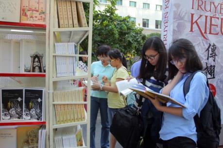 Khai mạc Lễ hội Đường sách Tết Bính Thân tại Thành phố Hồ Chí Minh