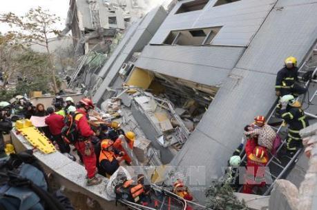Vụ động đất tại Đài Loan (Trung Quốc): Thương vong gia tăng