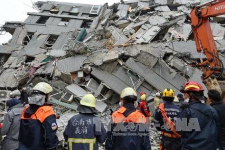 Vụ động đất tại Đài Loan (Trung Quốc): Công tác cứu hộ được triển khai mạnh mẽ