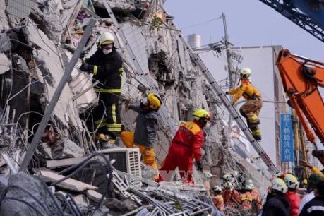 Vụ động đất tại Đài Loan (Trung Quốc): 4 công dân Việt Nam đang mắc kẹt