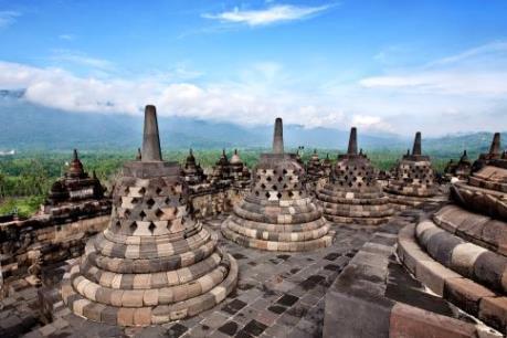 Du xuân tại di tích Phật giáo lớn nhất thế giới