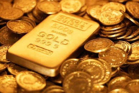 Giá vàng thế giới áp sát mức đỉnh trong 7 tháng rưỡi