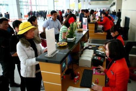 Hơn 5,3 vạn khách xuất, nhập cảnh Hà Nội trong Tết Bính Thân 2016