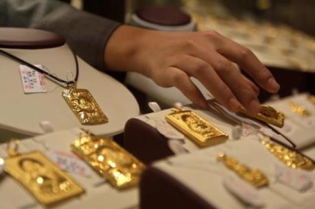 Giá vàng SJC giảm tiếp 100.000 đồng/lượng