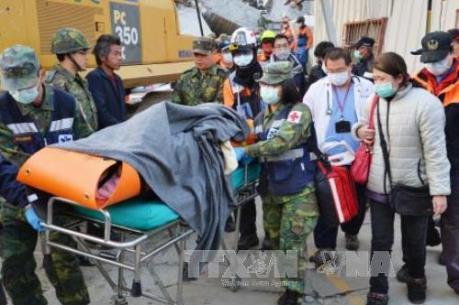 Vụ động đất ở Đài Loan (Trung Quốc): Số người thiệt mạng tăng lên 108 người