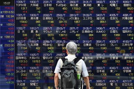 Chứng khoán Nhật Bản dẫn đầu đà hồi phục của thị trường châu Á
