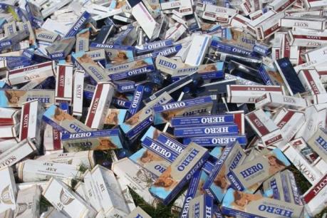 Kiên Giang bắt giữ 1.740 gói thuốc lá nhập lậu