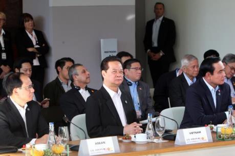 Thủ tướng Nguyễn Tấn Dũng đề xuất thành lập Trung tâm ASEAN-Hoa Kỳ về doanh nghiệp