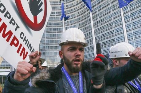 Thép Trung Quốc bán phá giá đe dọa công ăn việc làm ở Châu Âu