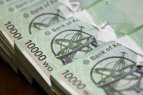 Đồng won Hàn Quốc rơi xuống mức thấp nhất sáu năm