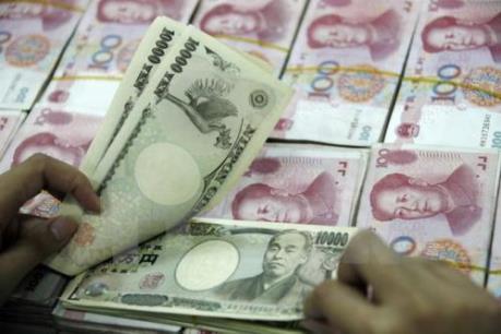 Đồng yen lùi bước so với cả đồng USD và đồng euro