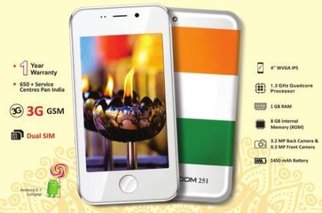 Smartphone siêu rẻ xuất hiện tại Ấn Độ
