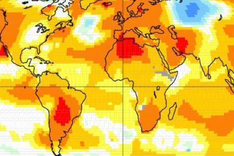 Thế giới vừa trải qua tháng 1 nóng kỷ lục