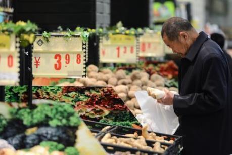 Trung Quốc gia tăng nguy cơ rơi vào giảm phát