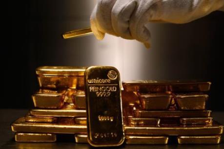 Giá vàng có thể lên tới 1.350 USD/ounce